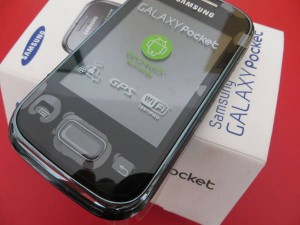 Mein Galaxy Pocket von Aldi