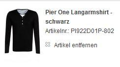 Pier One Langarmshirt