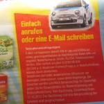 Beim Iglo und Edeka Gewinnspiel ein Auto gewinnen.