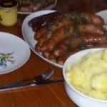 Weihnachtsfeier Idee Grünkohl und Pinkel Essen im Landgasthaus.