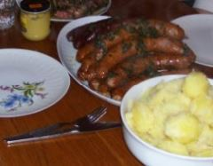 Grünkohl und Pinkel Essen