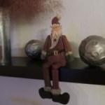 Kantenhocker in jeder weihnachtlichen guten Stube