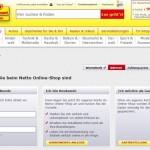 Erfahrung mit dem Ablauf der Bestellung bei Netto online
