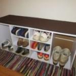 Schuhschrank mit Sitzkissen Diska Teil 2