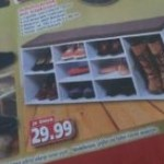 Schuhschrank mit Sitzkissen in der Diska Werbung ab Montag 18.11.2013
