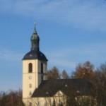 Die Kirche in Thalheim Erzgebirge