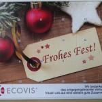 Adventskalender Werbegeschenk vom Steuerberater Ecovis