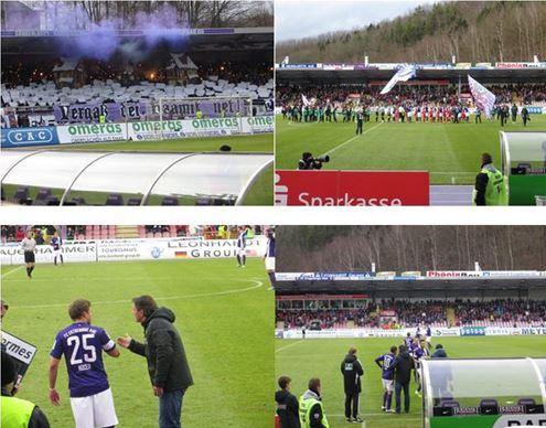 Aue gegen Ingolstadt