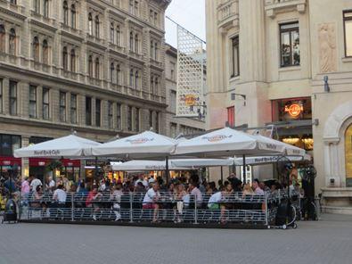 Hardrock Cafe in Budapest