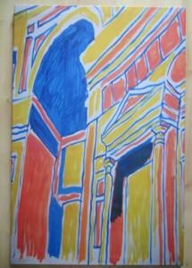 Kunstdruck der Künstlerin Patrricia van Dokkum