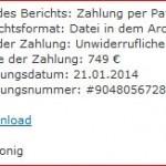 Achtung Phishing Trick Zahlung per Paypal von R.Konig (#9048056728)