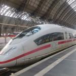 Kostenloses Lizenzfreies Foto eines ICE im Hauptbahnhof Frankfurt