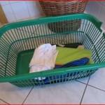 Der Wäschekorb ist kaputt