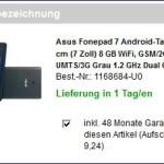 Asus Fonepad 7 ME175CG bei Conrad Electronics gekauft