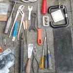 18 Kilo altes, gebrauchtes Werkzeug zu verkaufen