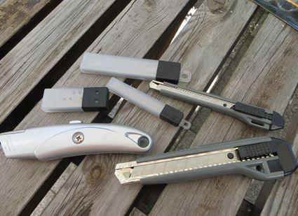 Das Top Craft Messerset ausgepackt