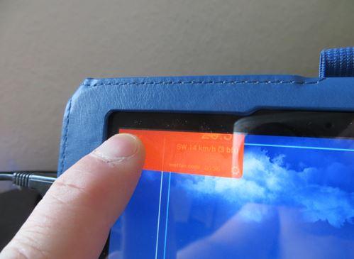 Das auf das X gezogene Widget wird orange und wird nach loslassen entfernt