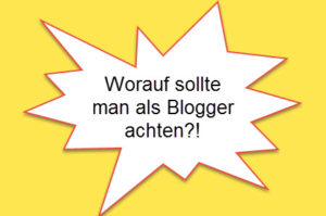 Blogger-Verhalten