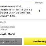 Smartphone Huawei Ascend Y530 bei Conrad