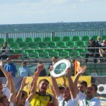 Beach Soccer Team Chemnitz Deutscher Meister 2014