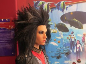 Bill Kaulitz von Tokio Hotel als Wachsfigur in Berlin