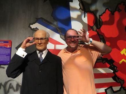 Erich Honecker als Wachsfigur in Berlin