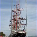 Segelschiff Sedov (Седов) in Warnemünde