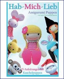 Taschenbuch mit 15 Amigurumi Anleitungen