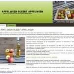Apfelwein Webprojekt mit Domain zu verkaufen