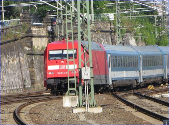 Eurocity nach Budapest