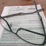 Fielmann und HanseMerkur Brillenversicherung kündigen.