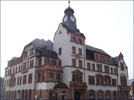 Rathaus Thalheim Erzgebirge