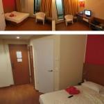 Unser Zimmer im Star Inn Hotel in Budaepest