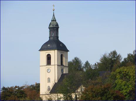 Kirche in Thalheim Erzgebirge