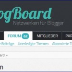 Neues Blogger Forum