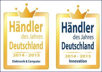 Auszeichnung Händler des Jahres 2014