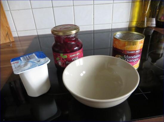 Joghurt selber machen Zutaten