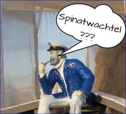 Kapitän Neugier und die Spinatwachtel