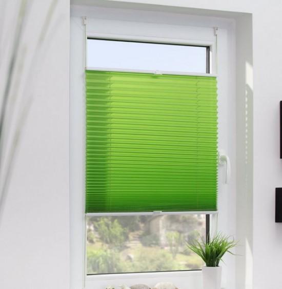 Plissee in der Farbe Apfelgrün:  Foto von Wohn-Guide.de GmbH bei Amazon
