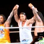 Tim Wiese beim WWE Wrestling live in Frankfurt