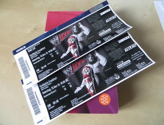 Unsere WWE Farnkfurt Tickets