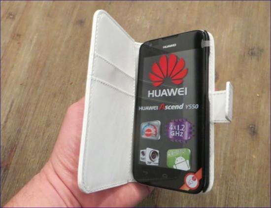 Handliche Handytasche / Schutz Hülle für Huawai Ascend y550
