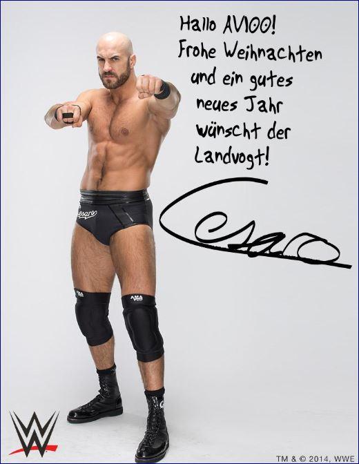 Virtuelle Weihnachtsgrüße von WWE Superstar Cesaro