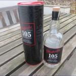 Leere Whiskyflasche Glenfarclas 105