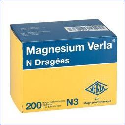 Magnesium Verla Dragees gegen Wadenkrämpfe? Gefunden bei Amazon