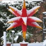 2. Weihnachtstag Schnee in Thalheim / Erzgebirge