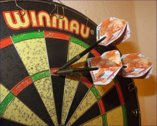 Winmau 25 Gramm Playboy Darts