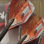 25 Gramm 80 % Tungsten Playboy Dart von Winmau