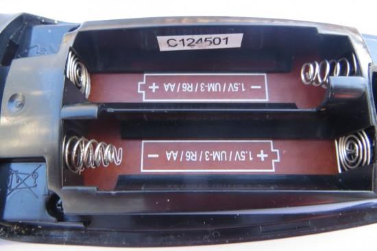 Das Batteriefach meiner Sky Fernbedienung
