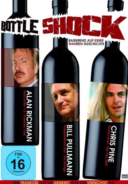 Bottle Schock Wein Film auf DVD